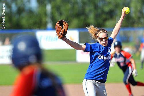 Eva Voortman was in vorm zaterdag.