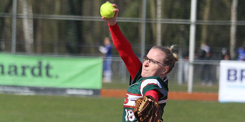 DSS-pitcher Dagmar Bloeming.