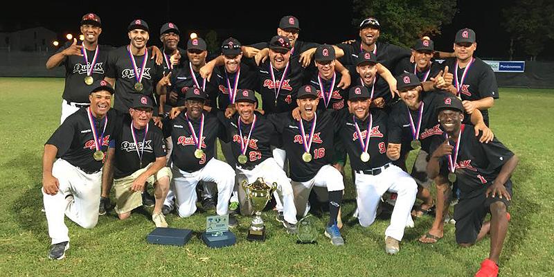 Quick Amersfoort veroverde voor het eerst de ESF Cup.