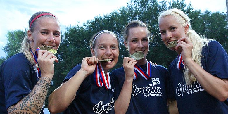 In augustus werd Sparks Haarlem voor de derde keer in de clubhistorie Europees kampioen.
