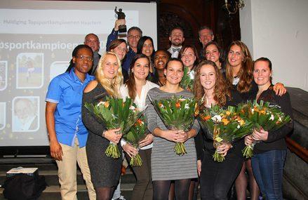 Sparks Haarlem opnieuw Sportploeg van het Jaar