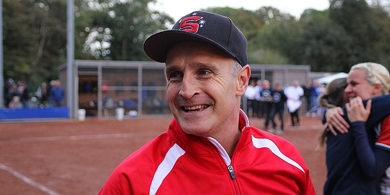 Sparks Haarlem-hoofdcoach Peter van Dalen.