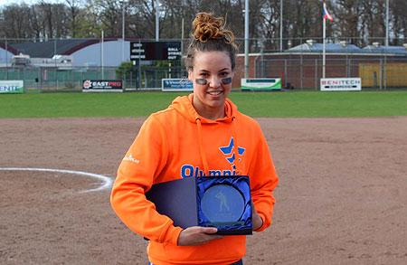 Eva Voortman werd uitgeroepen tot MVP.
