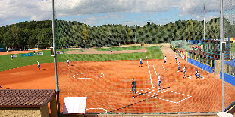 Het Arrows Park in Ostrava (Tsjechië).