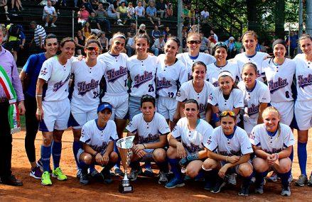 Italiaanse softbalsters winnen opwarmer voor EK