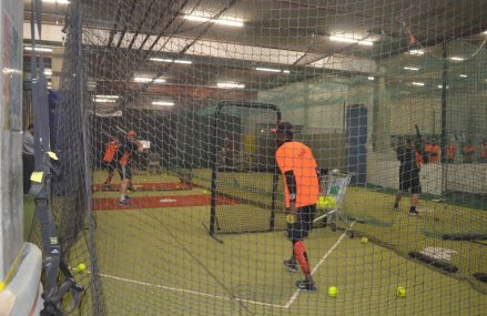 Wintertraining nationaal Herensoftbalteam