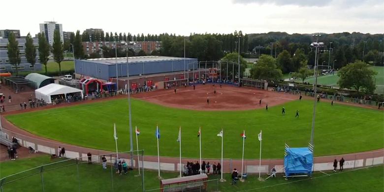 Het Van der Aart Sportpark in Haarlem.