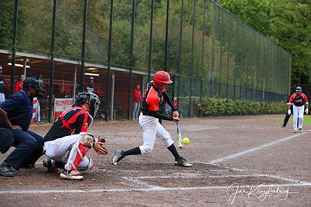 De beslissende wedstrijd werd gespeeld op het XLLease Park Dorrestein in Amersfoort.