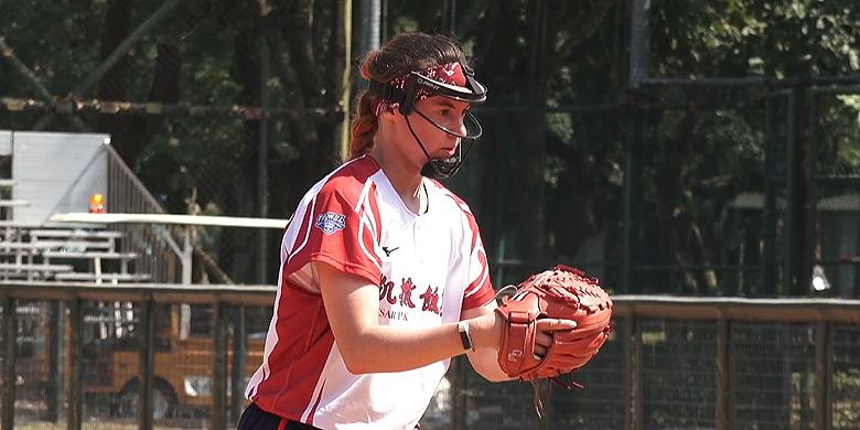 In Taiwan speelde Eva Voortman in een maand tijd zeven wedstrijden.
