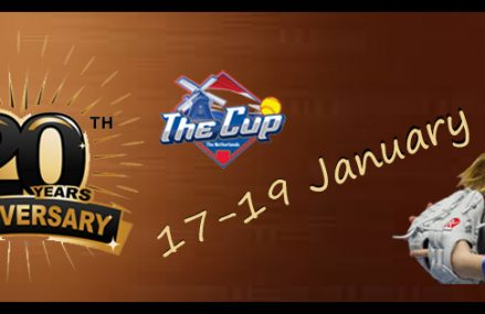 Twintigste editie van Indoor toernooi 'The Cup' van 17 tot en met 19 januari