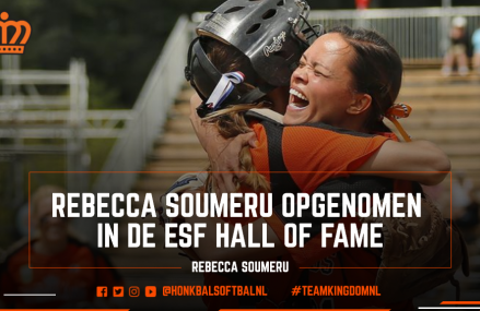 Rebecca Soumeru opgenomen in ESF Hall of Fame