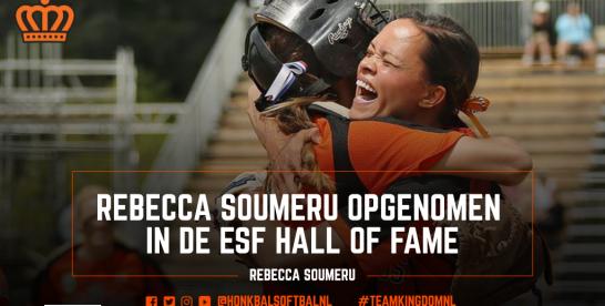 Rebecca Soumeru opgenomen in ESF Hall of Fame