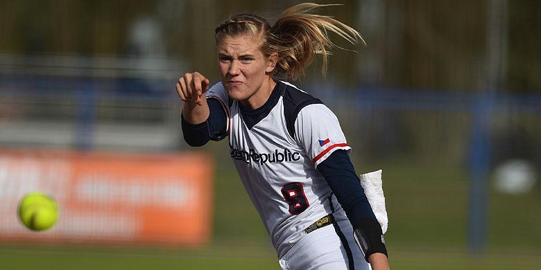 Veronika Pecková speelt in 2021 voor FysioExpert Olympia Haarlem